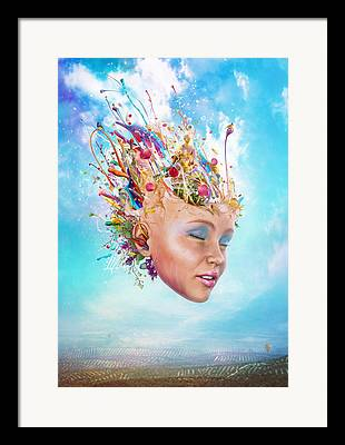 Creative Manipulation Digital Art Framed Prints