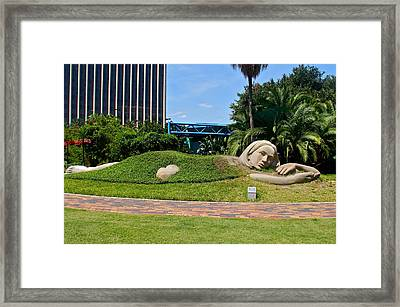 Muse Of Discovery Framed Print by Denise Mazzocco