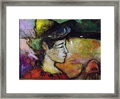 Muse Struck Framed Print by Mykul Anjelo