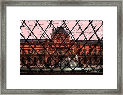 Musee De Luvre Framed Print