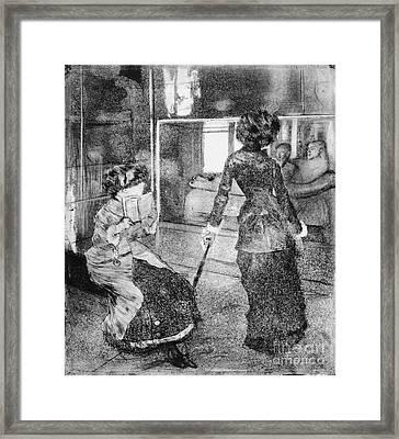 Musee Des Antiques 1876 Framed Print