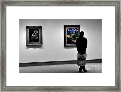 Museum 1 Framed Print by Bob Stone