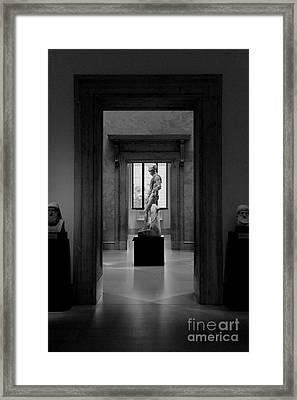 Museum 4 Framed Print by Bob Stone