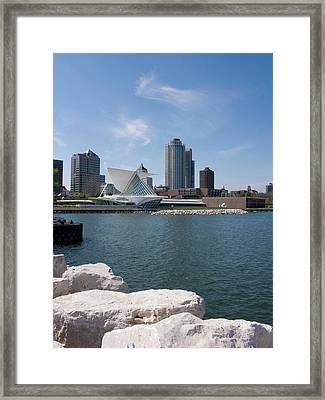 Museum At The Waterfront, Milwaukee Art Framed Print