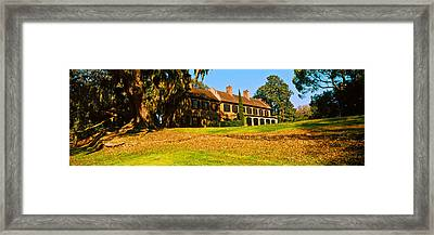 Museum In A Garden, Middleton Place Framed Print