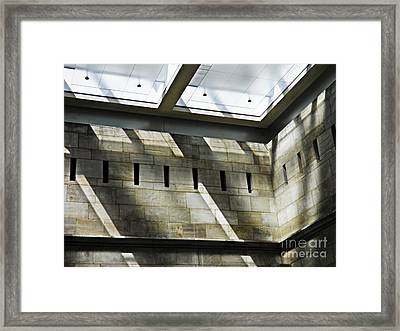 Museum In The Abstract Framed Print