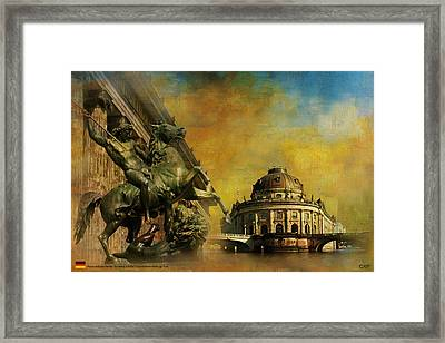 Museum Island Framed Print by Catf