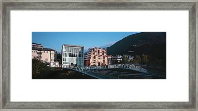 Museum Of Contemporary Art, Bolzano Framed Print by Panoramic Images