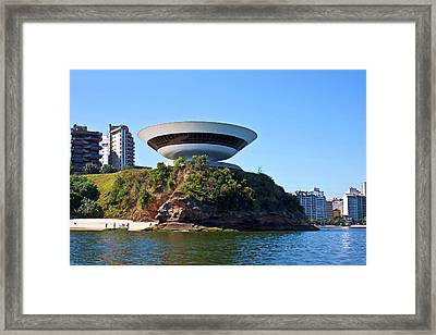 Museum Of Contemporary Art (by Oscar Framed Print by Miva Stock