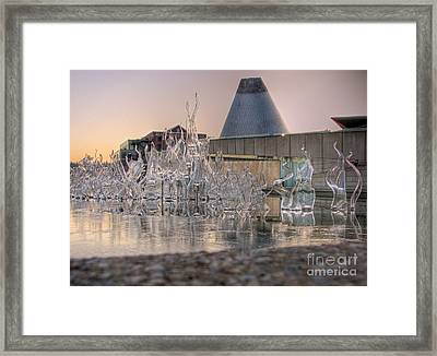 Framed Print featuring the photograph The Museum Of Glass by Chris Anderson