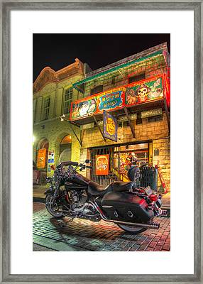 Framed Print featuring the photograph Museum Of The Weird by Tim Stanley