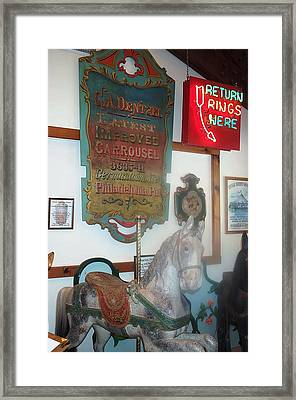 Framed Print featuring the photograph Museum Pieces by Barbara McDevitt