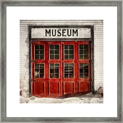 Museum Framed Print by Priska Wettstein