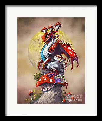 Dragon Framed Prints