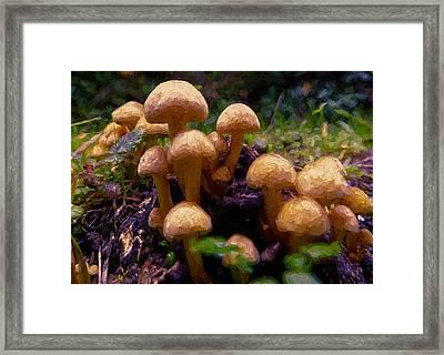 Mushroom Hill Framed Print by John K Woodruff