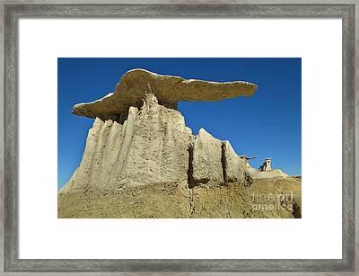 Mushroom Hoodos Bisti Wilderness Framed Print