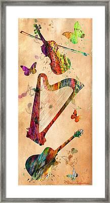 Music 3 Framed Print
