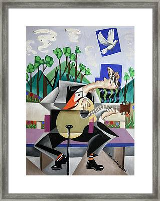 Music A Gift From The Holy Spirit Framed Print