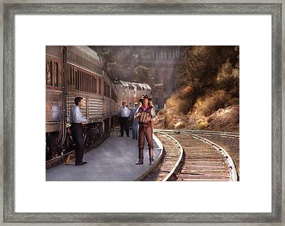 Music - Accordion - The Guy And The Squeeze Box Framed Print by Mike Savad