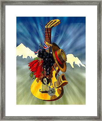 Music Framed Print by Allen Beilschmidt