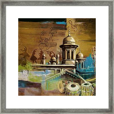 Music And Culture Framed Print by Catf