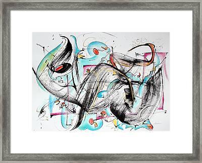 Music Framed Print by Asha Carolyn Young