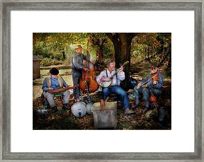 Music Band - The Bands Back Together Again  Framed Print