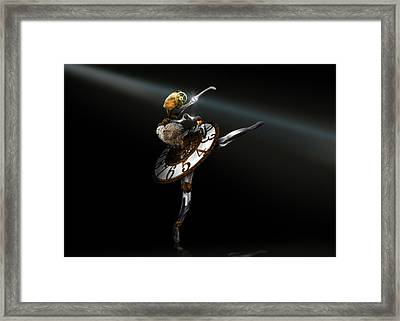 Music Box - The Dance Of Hours Framed Print by Alessandro Della Pietra