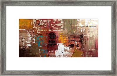Music Framed Print by Carmen Guedez