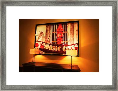 Music City Lights Framed Print by Dan Sproul