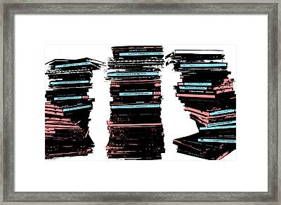 Music Collection  Framed Print by Kyle Morris