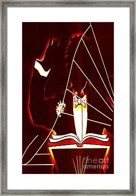 Music Conductor Framed Print by Bryan Crawley