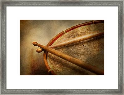 Music - Drum - Cadence  Framed Print