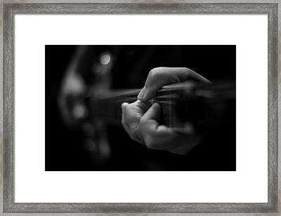 Music Framed Print by Garett Gabriel
