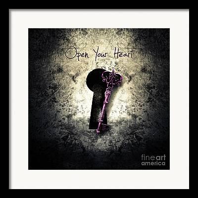 Broken Keys Framed Prints