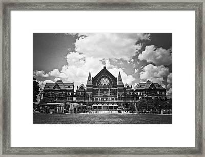 Music Hall 2 Framed Print