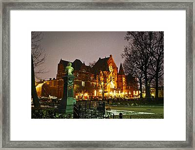 Music Hall Framed Print