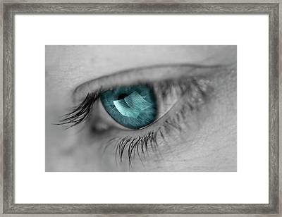 Music In Her Eyes Framed Print