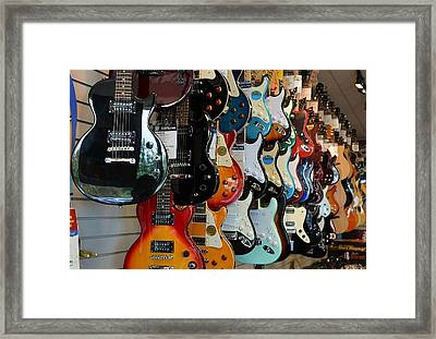 Framed Print featuring the photograph Music In Waiting by Mary Zeman