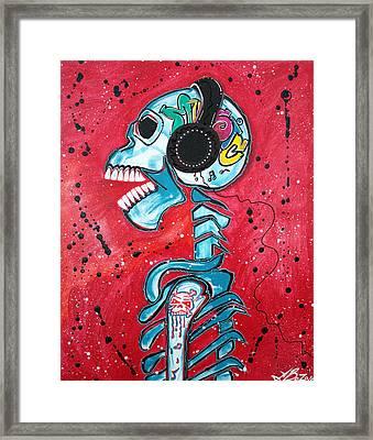 Music Is Art Framed Print