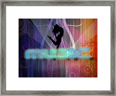 Music Framed Print by John Swartz