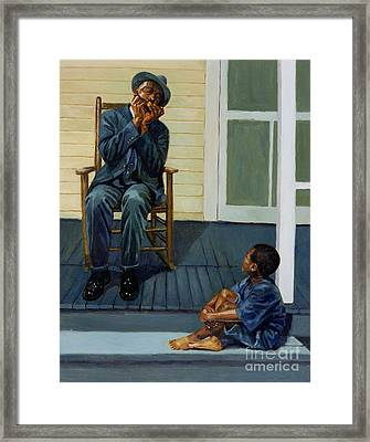 Music Lesson Number 1 Framed Print by Colin Bootman