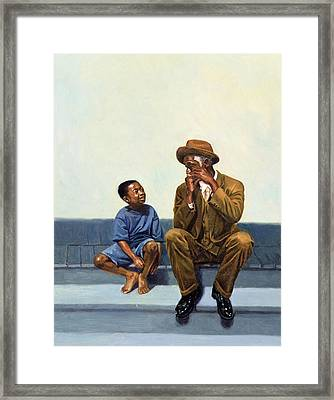 Music Lesson Number 2 Framed Print