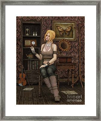 Music Lover Framed Print