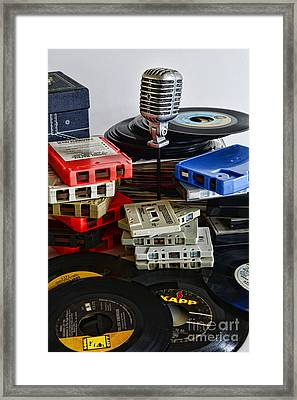 Music Memories Framed Print