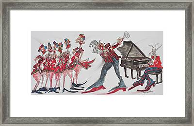 Music Moves The Groove Framed Print by Suzanne Macdonald