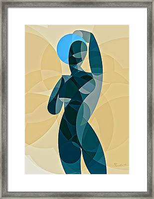 Music Of The Spheres #11 Framed Print by Peyablo