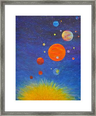 Music Of The Spheres 2 Framed Print
