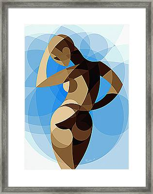 Music Of The Spheres #8 Framed Print by Peyablo