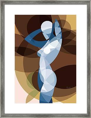 Music Of The Spheres #9 Framed Print by Peyablo
